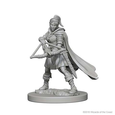 D&D Miniatures Human Ranger Female