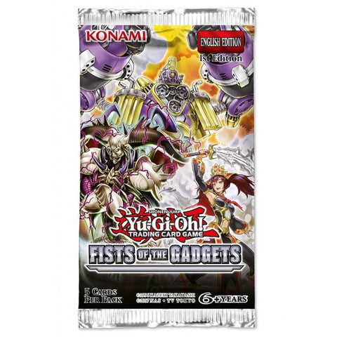 Yu-Gi-Oh! TCG Fists of the Gadgets Booster Pack