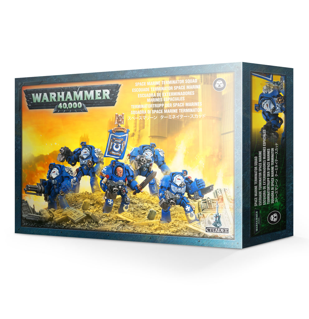 Space Marines Terminators