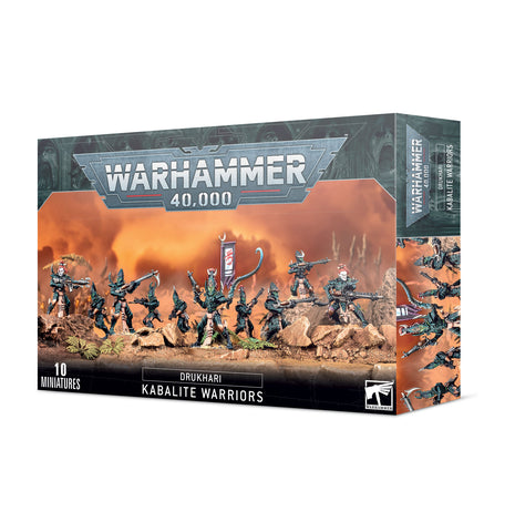 Drukhari - Kabalite Warriors