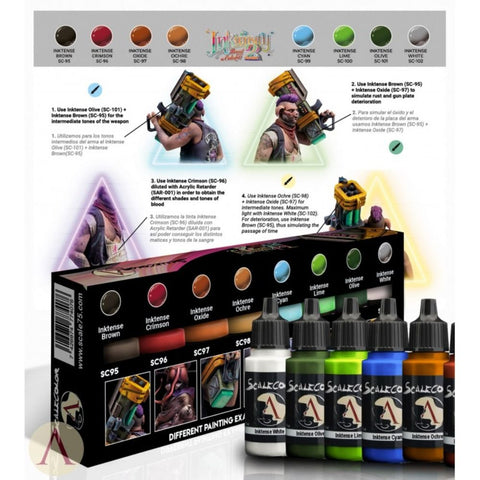 Scale 75 Scalecolor Inktensity 2 Paint Set