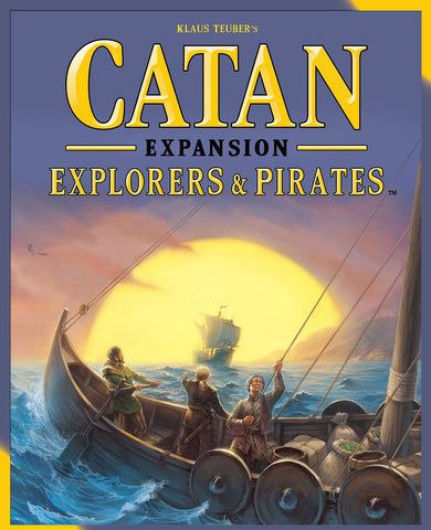 Catan The Settlers - Explorers and Pirates Expansion