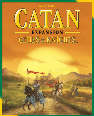 Catan The Settlers - Cities and Knights Expansion