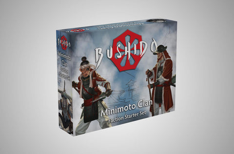 Image of Bushido Minimoto Clan Starter Set