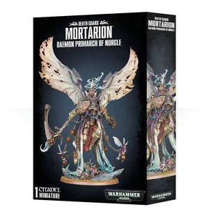 Death Guard Daemon Prince Mortarion