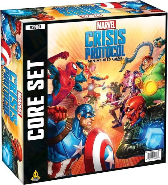 Marvel Crisis Protocol Miniatures Game Core Set