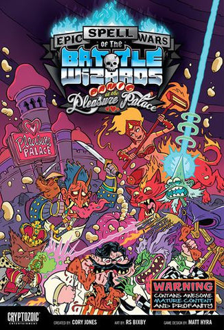 Epic Spell Wars of Battle Wizards Panic at the Pleasure Palace