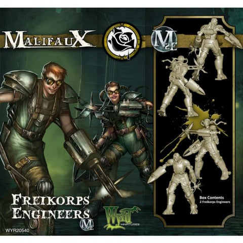Malifaux Guild Freikorps Engineers