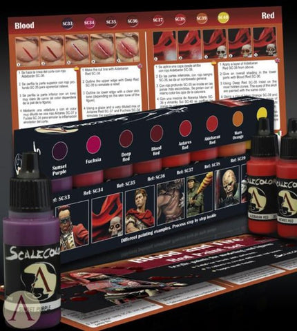 Image of Scale 75 Scalecolor Blood and Fire Paint Set