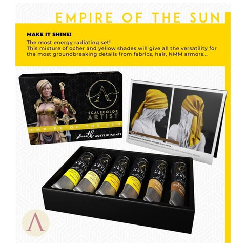 Scale 75 Scalecolor Artist Empire of the Sun Paint Set