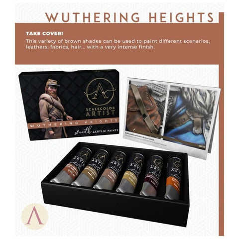 Scale 75 Scalecolor Artist Wuthering Heights Paint Set