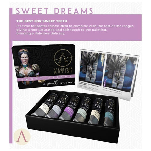 Scale 75 Scalecolor Artist Sweet Dreams Paint Set
