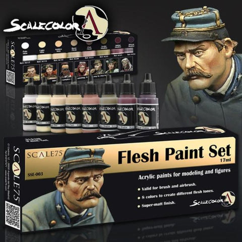 Scale 75 Scalecolor Flesh Paint Set