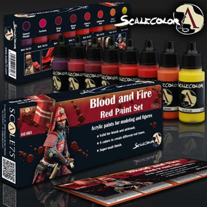 Scale 75 Scalecolor Blood and Fire Paint Set