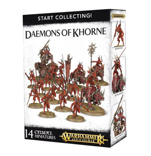 Daemons of Khorne Start Collecting Set