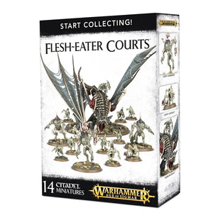 Flesh Eater Courts Start Collecting Set