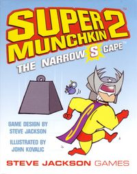 Super Munchkin 2 The Narrow S Cape