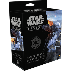 Star Wars Legion - E-Web Heavy Blaster Team Imperial Expansion