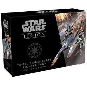 Star Wars Legion TX-130 Saber-Class Fighter Tank