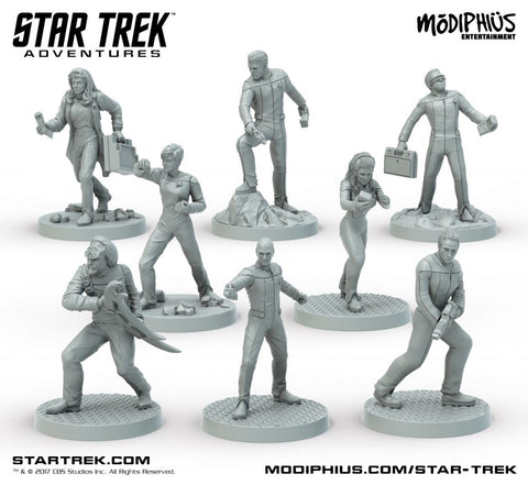 Star Trek Adventures RPG The Next Generation Miniatures Set