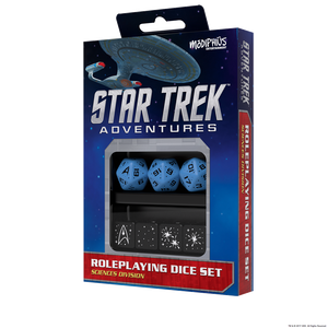 Star Trek Adventures Dice Sciences Blue