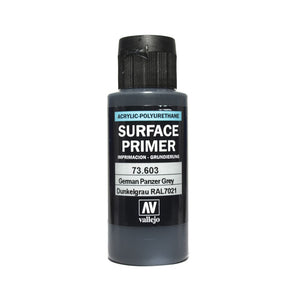 Vallejo Surface Primer - 603 German Panzer Grey 60ml
