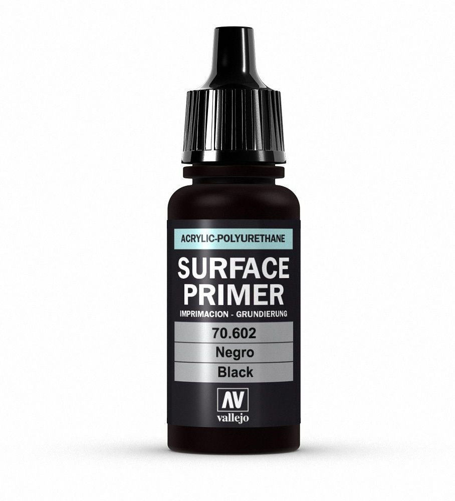 Vallejo Surface Primer - 602 Black 17ml