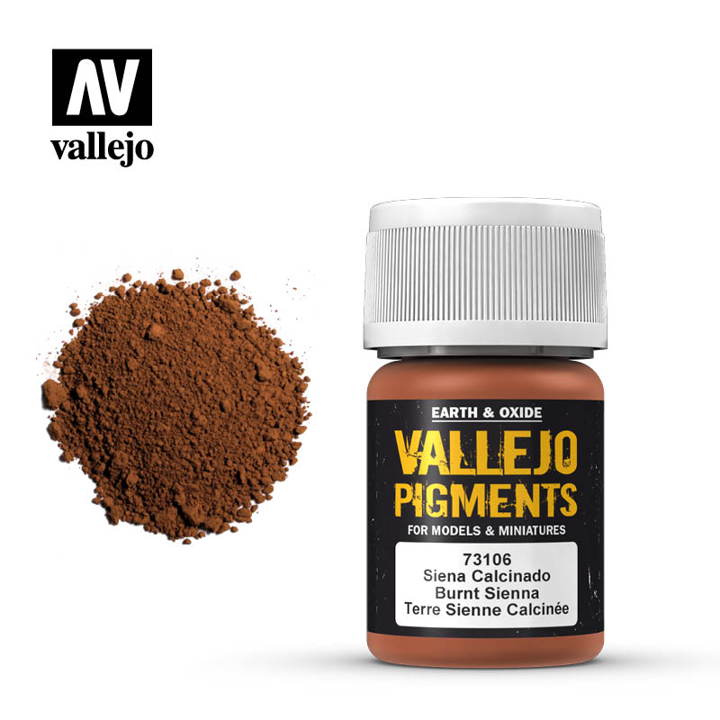 Vallejo Pigments - 106 Burnt Siena 30ml