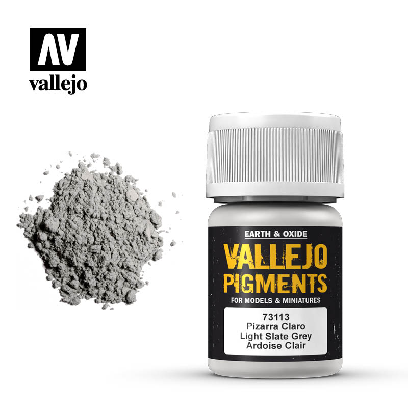 Vallejo Pigments - 113 Light Slate Grey 30ml