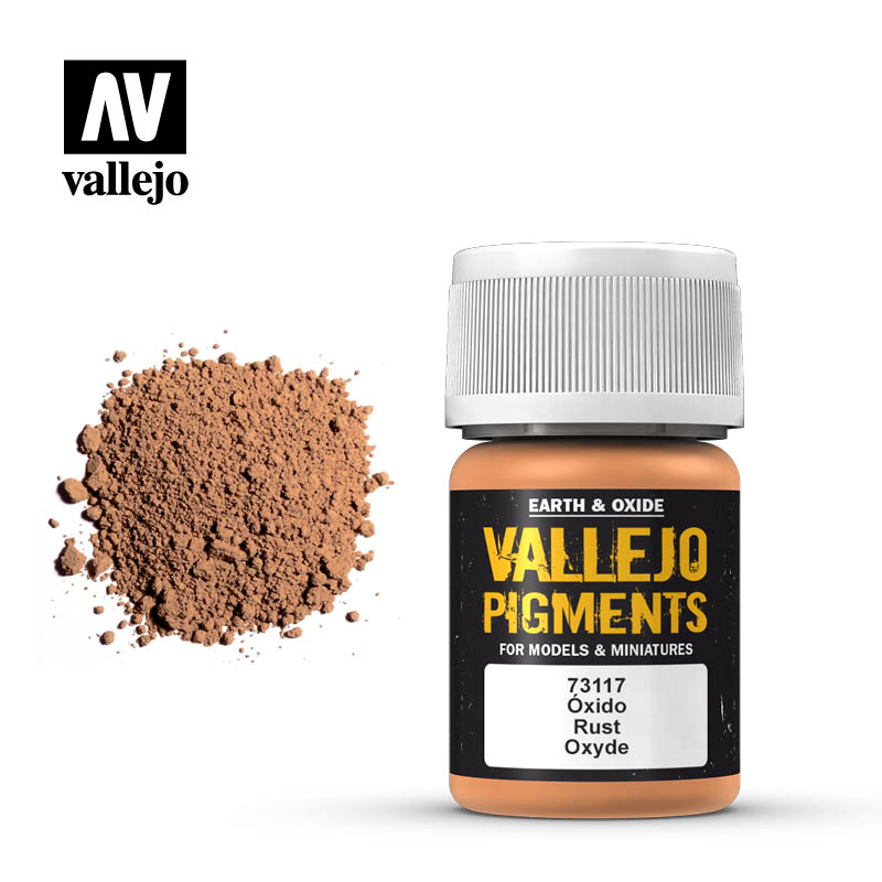 Vallejo Pigments - 117 Rust 30ml