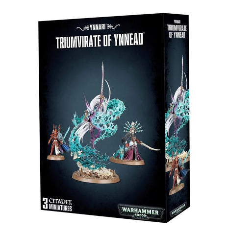 Eldar - Ynnari Triumvirate of Ynnead 8th Edition Repackaging