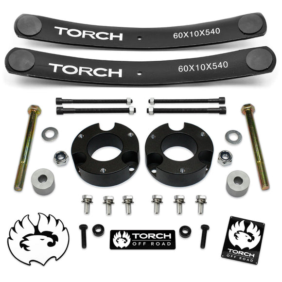 2005-2020 Toyota Tacoma Full Lift Kit with Add A Leafs