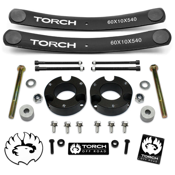 2005-2021 Toyota Tacoma Full Lift Kit with Add A Leafs