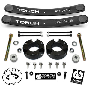 1995-2004 Toyota Tacoma Lift Kit with Diff Drop and Add A Leafs