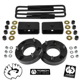 "2007-2019 Chevy GMC Silverado Sierra 1500 2.5"" Front 2"" Rear Lift Kit"