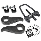 "2011-2019 Silverado Sierra 2500 3500 3"" Front Lift Kit Shock Extenders and Tool"