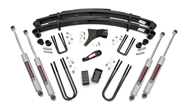 4in Ford Suspension Lift Kit for 1986-1997 Ford F-350 4WD