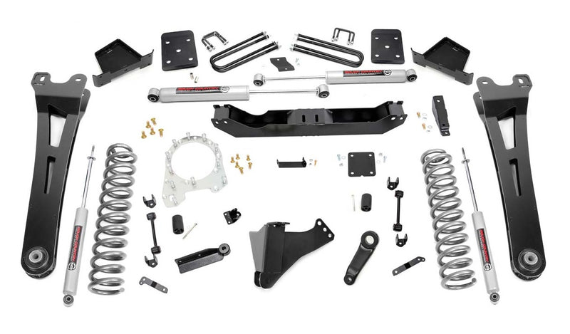 6in Ford Suspension Lift Kit w/ Radius Arms (17-20 F-250/350 4WD | Diesel)