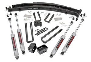 4in Dodge Suspension Lift Kit for 1977-1993 Dodge Dana 44 W Series Pickup 4WD