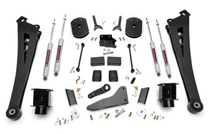 5in Dodge Suspension Lift Kit | Coil Spacers | Radius Arms (14-18 Ram 2500 4WD)