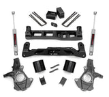 5in GM Suspension Lift Kit for 2007-2013 GMC Chevy Sierra Silverado 1500 2WD