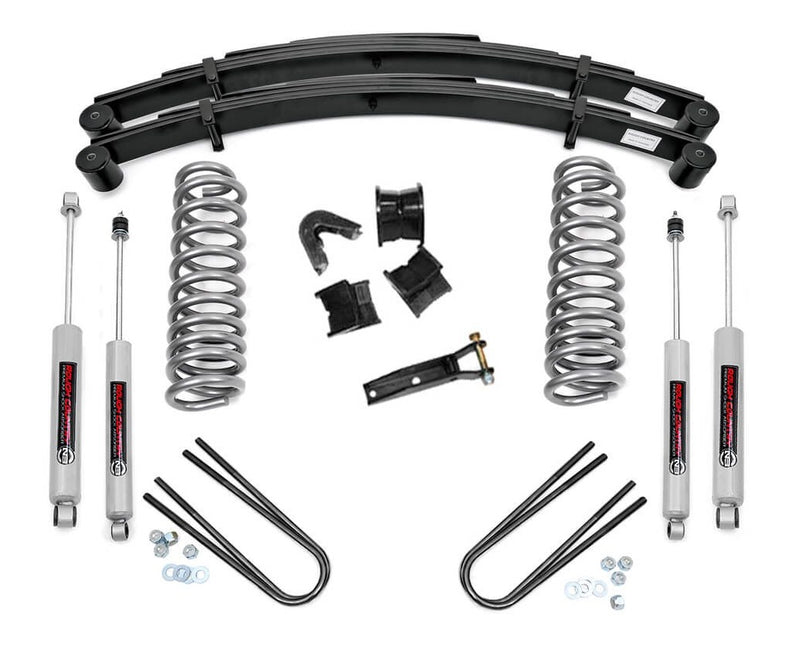 4in Ford Suspension Lift System for 1970-1976 Ford F-100 F-150 4WD
