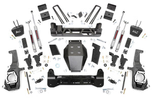 5in GM Torsion Bar Drop Suspension Lift Kit for 2011-2019 GMC Chevy Sierra Silverado 2500HD 3500 HD