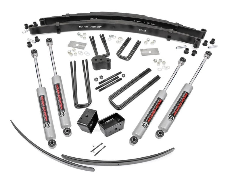 4in Dodge Suspension Lift Kit for 1974-1974 Dodge Plymouth RamCharger Trailduster 4WD