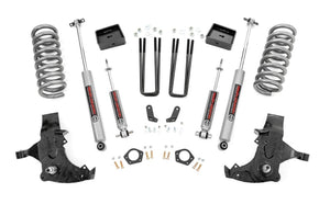6in GM Suspension Lift Kit for 1988-1998 GMC Chevy C1500 K1500 Pickup 2WD