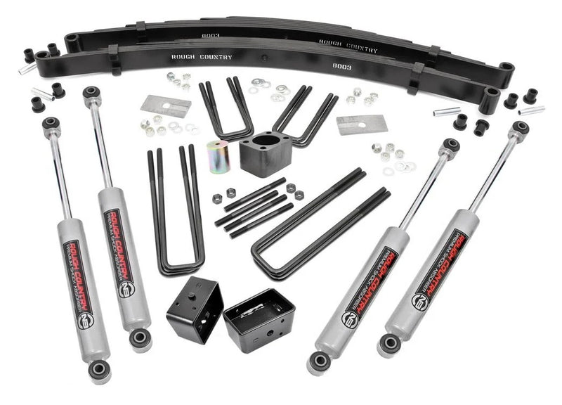 4in Dodge Suspension Lift Kit for 1977-1993 Dodge Dana 60 W Series Pickup 4WD