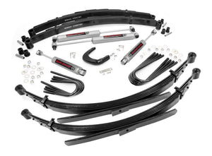 6in GM Suspension Lift System (52in Rear Springs) for 1973-1976 Chevy GMC Pickup Suburban Blazer Jimmy 4WD