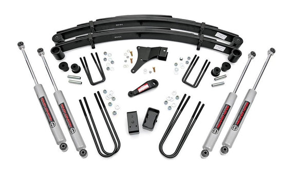 4in Ford Suspension Lift Kit for 1982-1985 Ford F-350 4WD