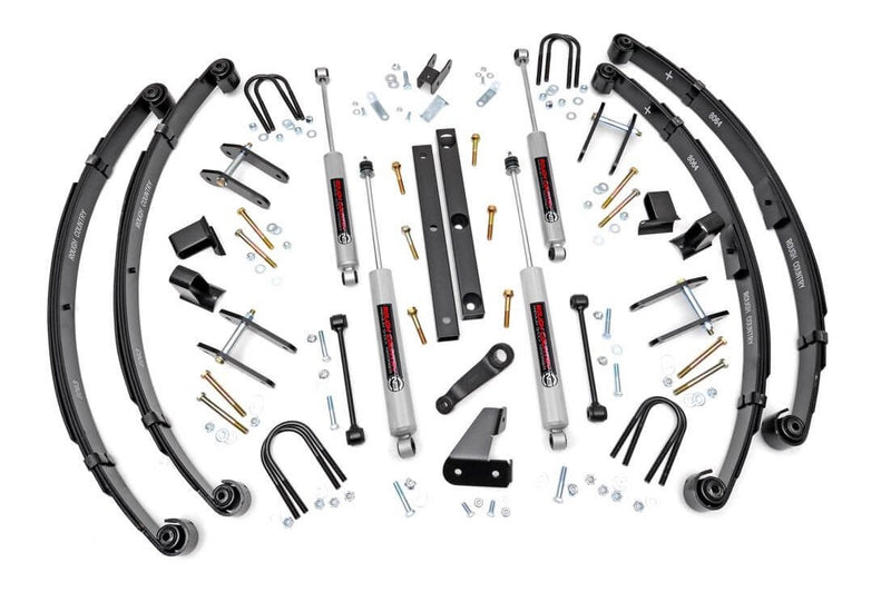 4.5in Jeep Suspension Lift Kit (Military Wrap Springs)
