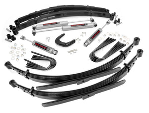 "4in GM Suspension Lift System for 1988-1991 GMC Chevy Suburban 4WD (56"" Rear Springs)"